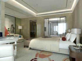 现代小公寓样板房装修家具定制
